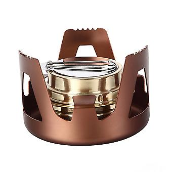 Alcohol Kachel Draagbare Lichtgewicht Camping Stove Mini Pocket Gas-Brander Camping Spirit Burner