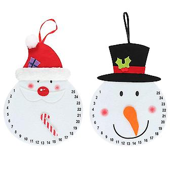 Something Different Character Christmas Advent Calendar (Pack of 2)