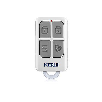 4つのボタンのキーチェーンが付いたワイヤレスリモートコントロール - ホームセキュリティ、アラームシステム