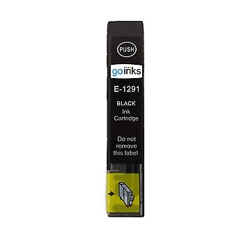 1 Black Ink Cartridge to replace Epson T1291 Compatible/non-OEM from Go Inks