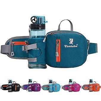 Running Bag Waist Belt Pack Outdoor Marathon Gym Sport Fitness Water Bottle Pouch Fanny Waist Pack Riding Ciclismo Teléfono Pocket