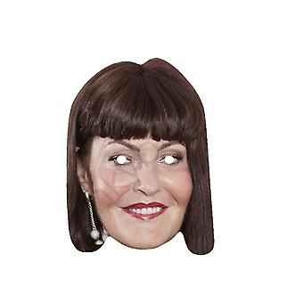 Mask-arade Celebrity Hilary Devey Face Mask