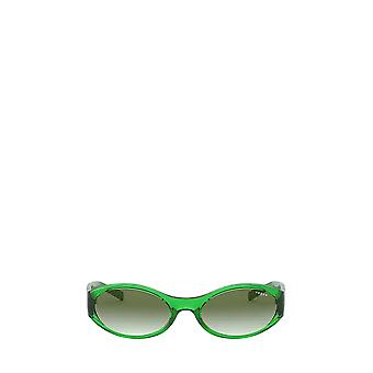Vogue VO5315S gennemsigtige grønne kvindelige solbriller