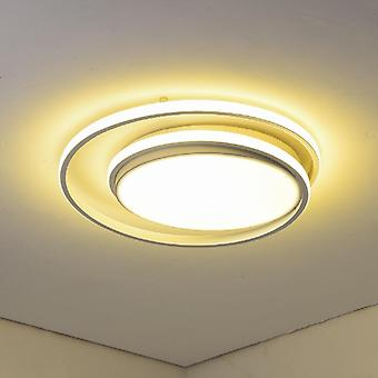 Round Led Chandeliers, Lamps For Bedroom Dining Room Living Room Kitchen Study