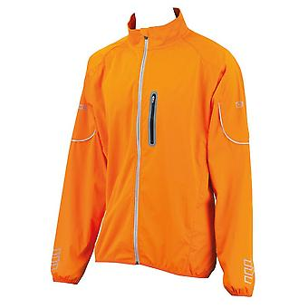 Eigo Mistral Windproof Cycling Jacket Vivid Orange