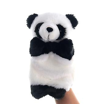 Animal Hand Puppet Plys Legetøj, Foregive telling Story Prop 25cm #21