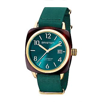 Briston 20240.PYA.T.27.NE Clubmaster Classic Acetate Wristwatch Green