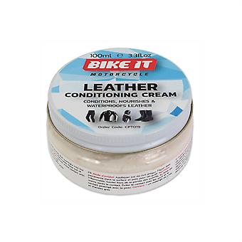 Bike It Leather Conditoner And Water Repellency Cream 100g