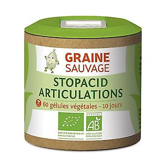 Stopacid ORGANIC Joints 60 vegetable capsules of 455mg
