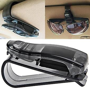 Sun Visor Glasses Case, Auto Fastener Clip, Sunglasses Holder For Car