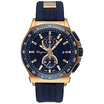 Salvatore Ferragamo FFJ020017 Miehet&s 1898 Blue Quartz Watch