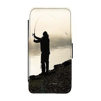 Fishing Man iPhone 11 Portemonnee Hoesje