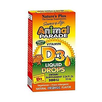 Animal Parade Vitamin D3 Drops 10 ml