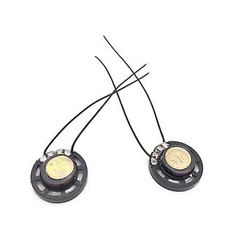 2pcs Ultra-thin Toy-car Horn, Speaker With  Wire