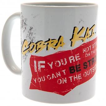 Cobra Kai Mug Strong
