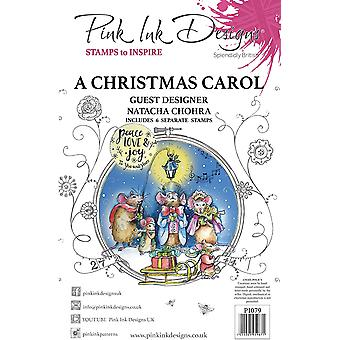 Pink Ink Designs A Christmas Carol A5 Clear Stamp Set
