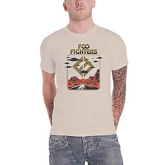 Foo Fighters T Shirt Roswell new Official Mens Natural