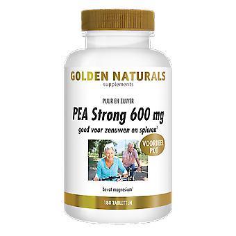 Golden Naturals PEA Strong 600 mg (180 comprimidos veganos)