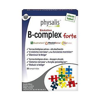 Physalis B-komplex forte 30 tabletter