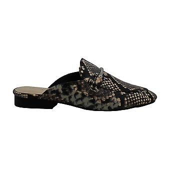 Enzo Angiolini Womens Taisie Leather Round Toe Mules