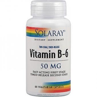 Solaray Vitamina B6 50 mg 60 Cápsulas