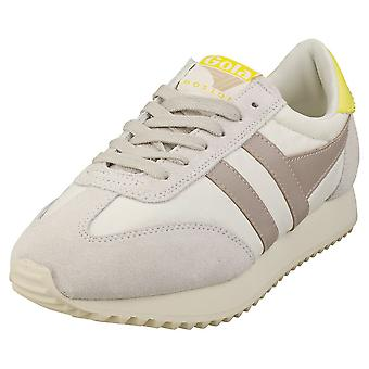 Gola Boston 78 Femmes Fashion Trainers in Off White