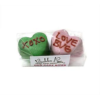 Candy Heart Cake Bites 2 Pack