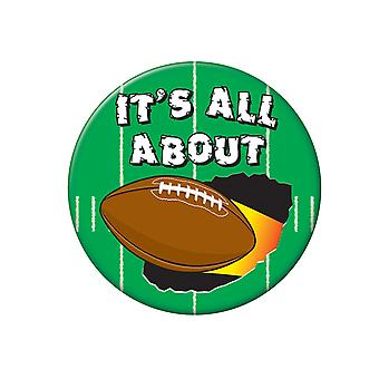 Es geht um Fußball-Button (Packung mit 12)