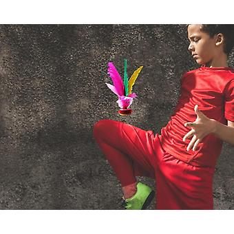 Chicken Feather Shuttlecock For Adult Kids Sports Exercise
