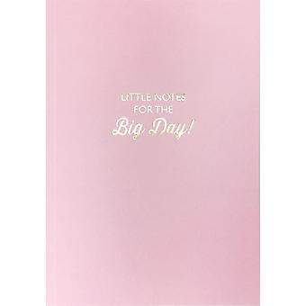 Little Notes For The Big Day Lined Notebook