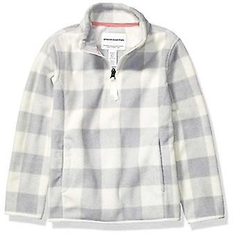 Essentials Girls&Quarter-Zip Polar Fleece Jacka