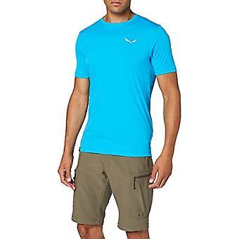 Salewa Pedroc Dry M S/S, Camiseta masculina, Azul (Danubio Azul), 48/M