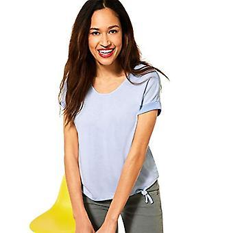 Street One 316314 T-Shirt, Mid Sunny Blue Mel, 46 Woman