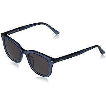 Calvin Klein Ck20538s-405 Glasses, Crystal Blue/Solid Smoke, 49-22-145 Unisex-Adult