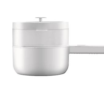 Electric Cooking Pot, Portable Multi Functions Cooker, Steaming Net, Desktop