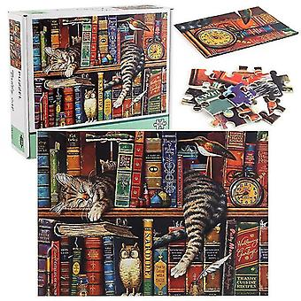 1000-Piece lazy cat sorting puzzle and decompression game
