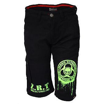 Darkside ZOMBIE BIO-HAZARD Cargo Shorts