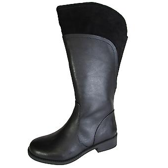 Me Too Womens Delancy Leather Riding Boot Shoe