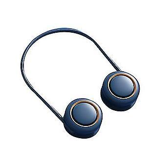 Niebieski wiszący szyja fanheadphone designbladeless wentylator x463
