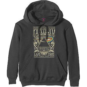 Pink Floyd - Carnegie Hall Poster Uomo XX-Large Pullover Felpa con cappuccio - Grigio carbone