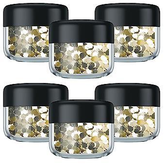 VO5 Style Edit Coloured Hair Glitter - Galactic gold - 6pk