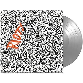 Paramore  - Riot! Silver Vinyl
