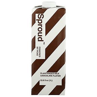 Sproud Milk Pea Chocolate, Case of 6 X 33.8 Oz