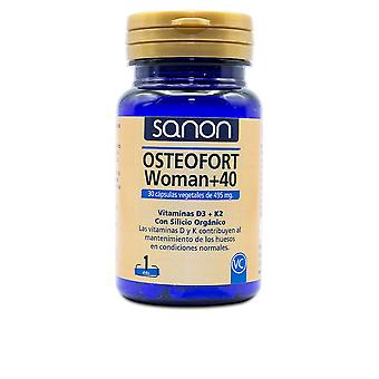 Sanon Sanon Osteofort Femme +40 30 Cápsulas Vegetales De 495 Mg Unisexe