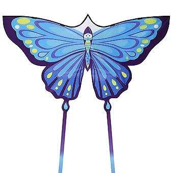 Clispeed Butterfly Kite Easy To Fly Colorful Kite With Long Tails Awesome Beach And Outdoor Toy For Family (comes With 100m Kite String)