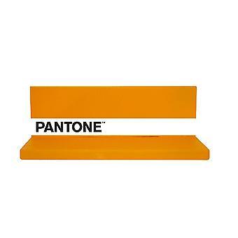 Mensola Shelfie, Colore Arancione, Bianco, Nero in Metallo, L40xP14xA13cm