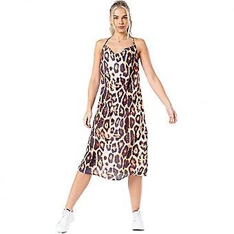 Hype Womens/Ladies Leopard Print Slip Dress