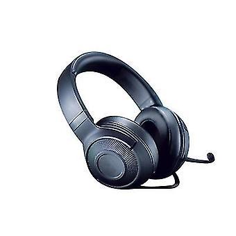 Ultralight Gaming -kuulokkeet Integroitu ääniohjaus Taivutettava kardioidimikrofoni (musta)