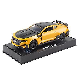 سبيكة سباق سيارة نموذج الصوت ضوء Diecast سحب ألعاب السيارات