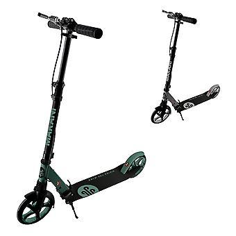 Makani Scooter Vale, PU-Räder mit Federung, klappbar, Handbremse, Seitenständer